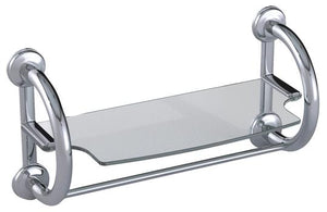 3-IN-1 GRAB BARS W/ TOWEL SHELF & HOLLOW WALL ANCHORS