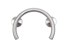 Load image into Gallery viewer, 2-IN-1 TUB/SHOWER GRAB BAR RING W/ GRIPS & HOLLOW WALL ANCHORS