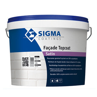 Sigma Facade Topcoat Satin Wit