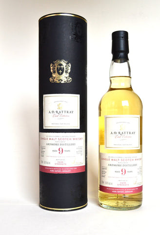 A.D. Rattray, Ardmore 2010, 9 Jahre, Bourbon Barrel