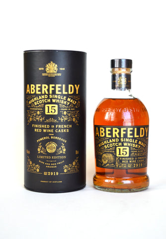 Aberfeldy 15 Jahre Red Wine Finish Batch 2919