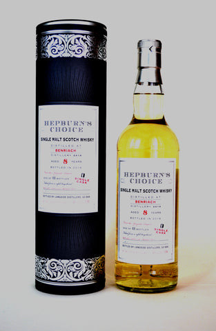 Benriach 2010, Hepburn's Choice, Bourbon Hogshead, by Hunter Laing