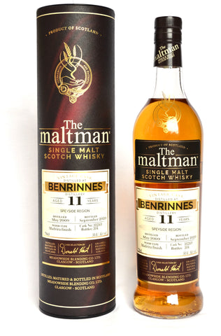 The Maltman Benrinnes, 2009,11 Jahre, Madeira finish Cask no. 102169