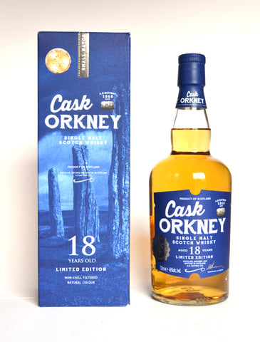 A.D. Rattray Cask Orkney, Single Malt, 18 Jahre