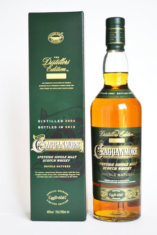 Cragganmore Distillers Edition 2003/2015