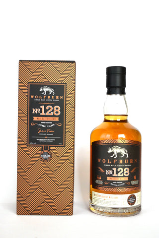 "Wolfburn ""Batch No. 128"" lightly peated"
