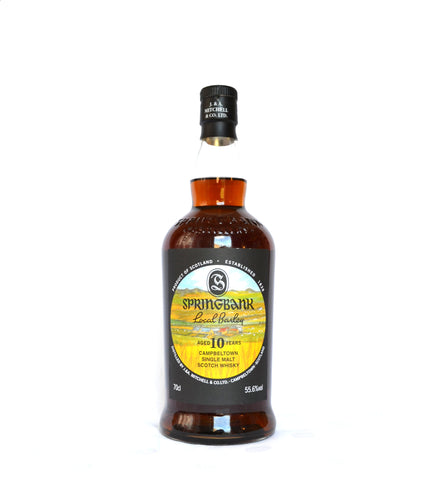 Springbank 10 Jahre, Local Barley 2020, 6. Edition