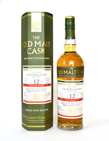Craigellachie 2006/2019, 12 J. Sherry Cask, The Old Malt Cask
