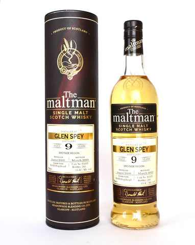The Maltman, Glen Spey, 2009, 9 Jahre, Hogshead No. 804609