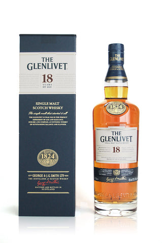 The Glenlivet 18 J.