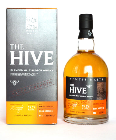 """The Hive"", Batch Strength 002, Wemyss Malts"