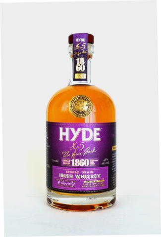 "Hyde ""No. 5"" Irish Single Grain Burgundy Finish"