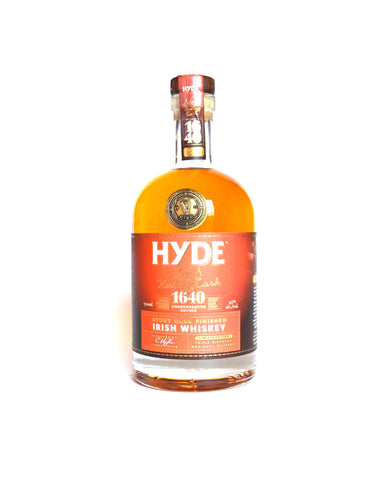 Hyde No. 8  Irish Stout Cask Finish, Irish  Whiskey