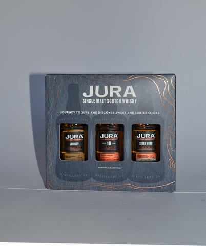 Isle of Jura 3-er Pack, Journey, 10 Jahre, Seven Wood