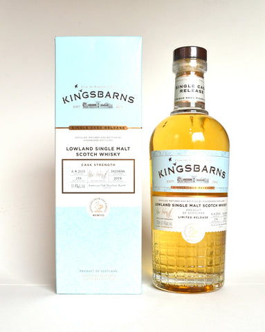 Kingsbarns, Single Bourbon Cask Release, Wemyss Malts, April 2016