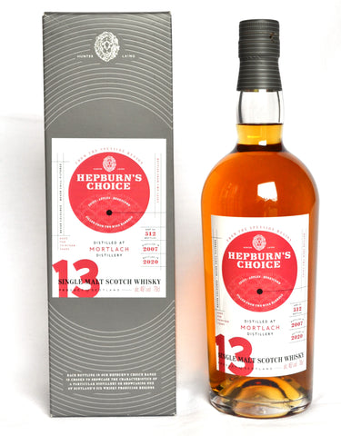 Mortlach  2007, 13 Jahre, Hepburn's Choice, Wine Finish by Hunter Laing