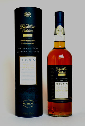Oban Distillers Edition 2006/2020 Montilla Fino Sherry - Cask Wood