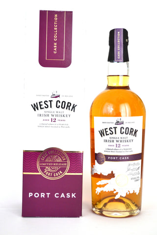 West Cork Irish Whiskey 12 Jahre Port Cask Finish