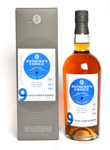 Talisker 2011, 9 Jahre, Hepburn's Choice, Sherry Butt Finish by Hunter Laing