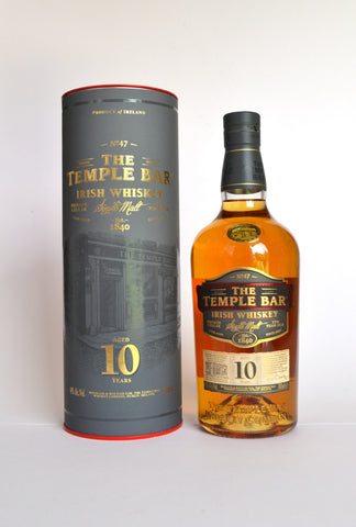 The Temple Bar 10 Jahre Irish Whiskey