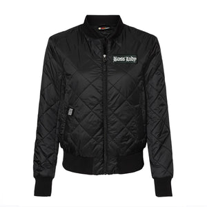 Quilted Packable Bomber Jacket
