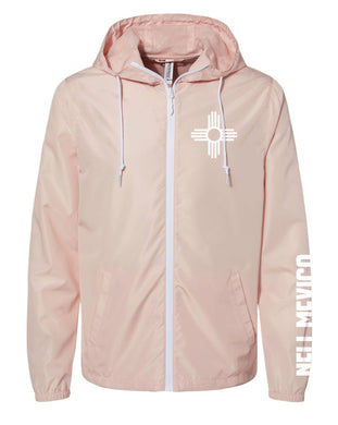 Rose Gold-Water Resistant Lightweight Windbreaker