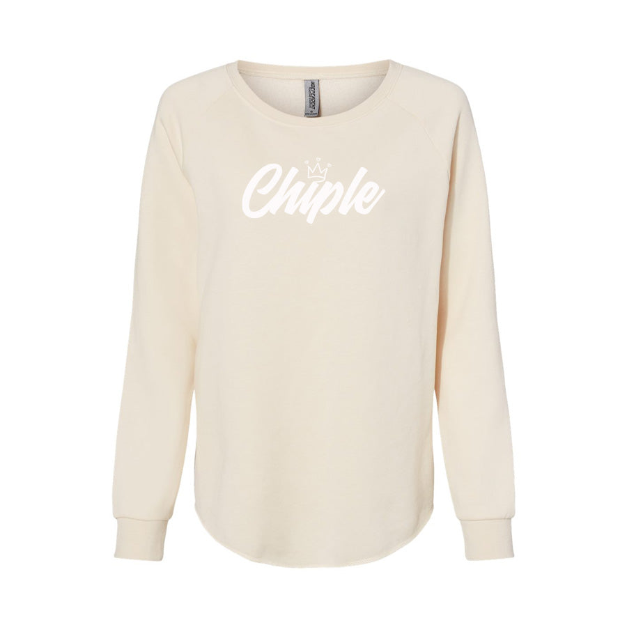 Chiple-Wave Wash Crewneck Sweatshirt