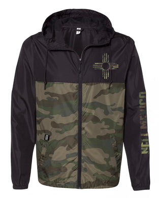 Camo-Water Resistant Lightweight Windbreaker
