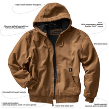 Load image into Gallery viewer, Heavy Duty Canvas Work Jacket