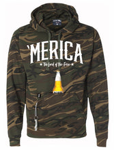 Load image into Gallery viewer, 'MERICA Koozie Hoodie