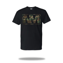 Load image into Gallery viewer, Signature 'NM' Camo Green T-Shirt