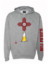 Load image into Gallery viewer, Grey New Mexico Koozie Hoodie