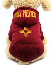 Load image into Gallery viewer, New Mexico Born & Raised Dog Hoodie