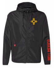 Load image into Gallery viewer, Black-Water Resistant Lightweight Windbreaker