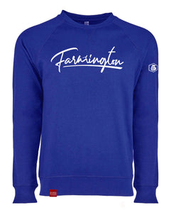 The City(F's)-The French Terry Raglan Crew