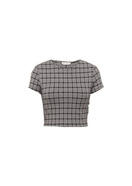 MISS SELFRIDGE MINI CHECK TOP