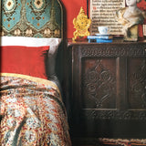 Homes & Antiques featured our kantha bedspread in their auction issue.