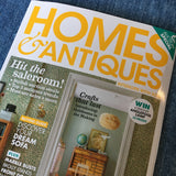 Homes & Antique Auction issue featured Rebecca's Aix Home