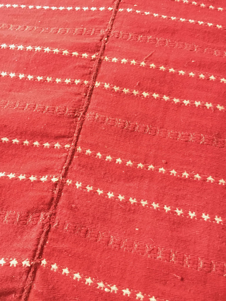 red white woven fabric upholstery curtains blinds cushion material vintage textiles