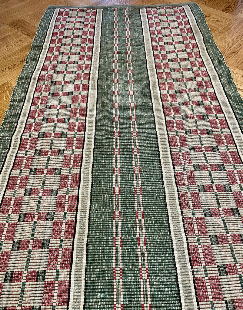 long green grey burgundy long rips runner floor corridor hall carpet mat 4.4m