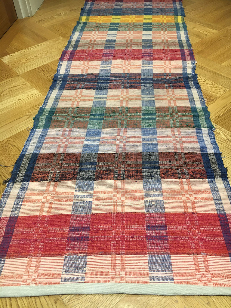 machine washable rips rug vintage hungarian blue pink red yellow long hall carpet rug