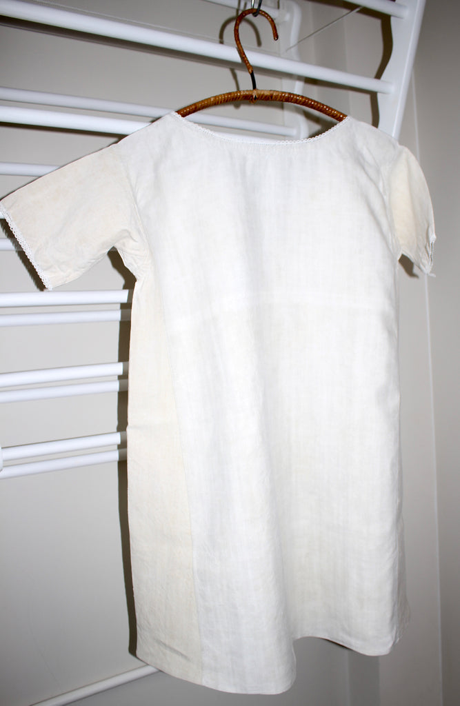 Antique French linen chemise - summer linen dress - cosplay costume