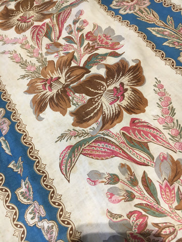 antique french chateau curtains in stunning colours