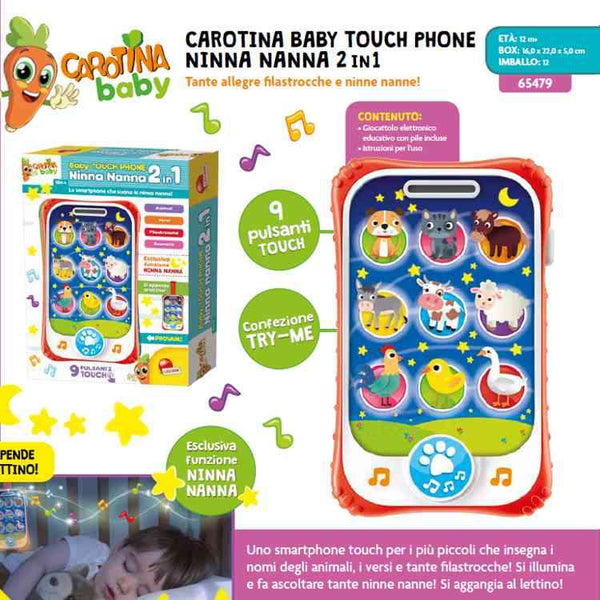 65479 carotina baby Touch Phone