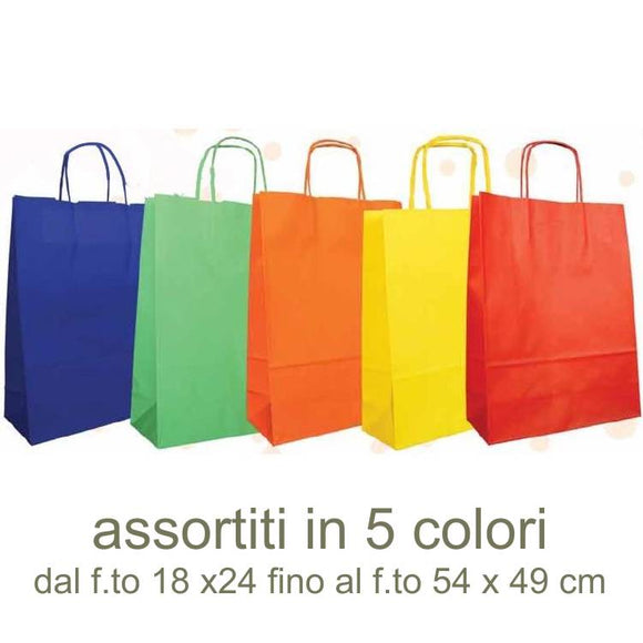 Shoppers Tinta Unita COLOR assortiti in varie misure