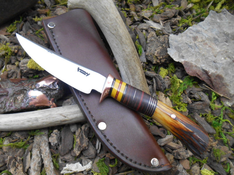 Premium Sambar Stag and Horsehide Trout & Bird