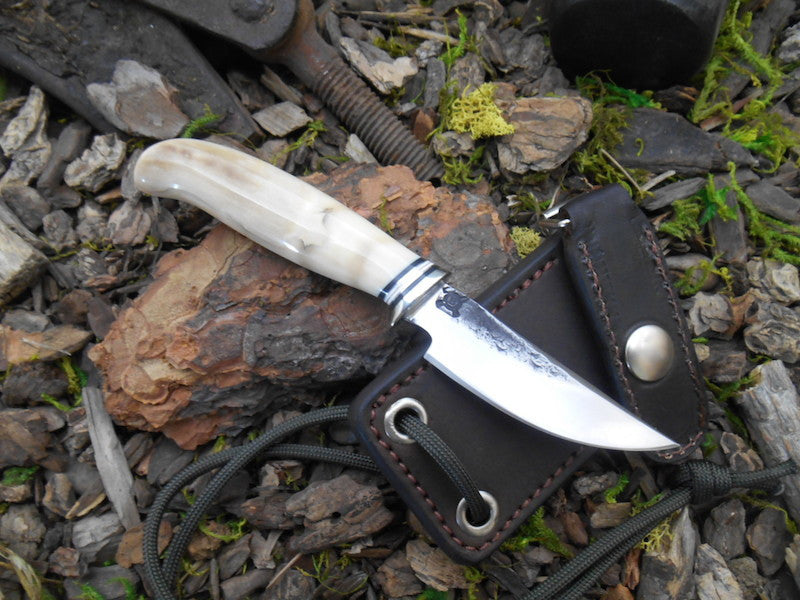 Fossil Walrus Neck Knife
