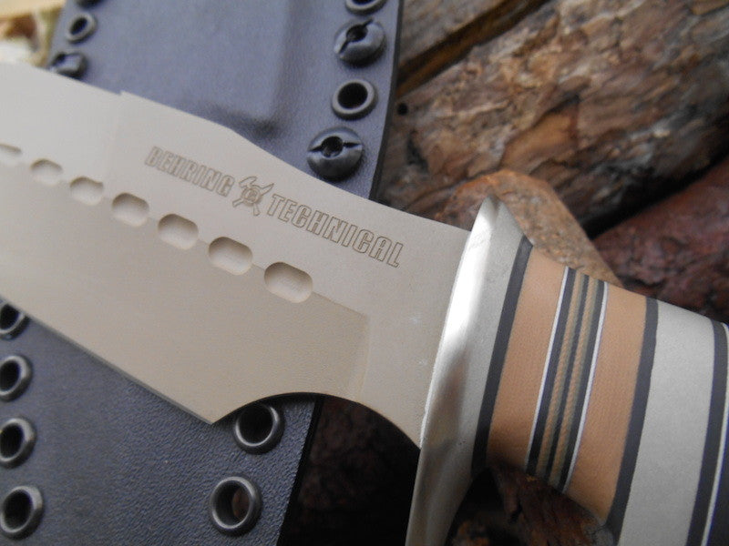 Alaskan Style Custom Shop Black Micarta F-1