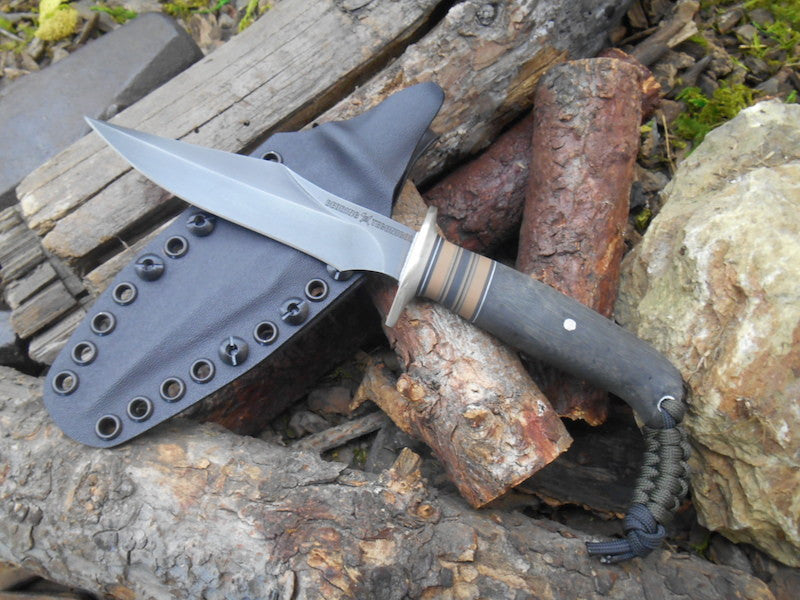 Black Micarta Custom Shop Wraith