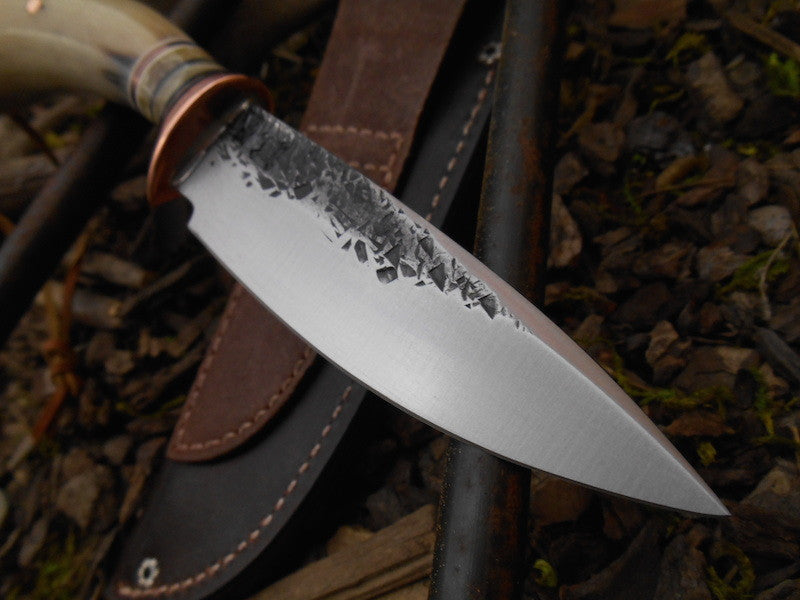 Musk Ox Carver Drop Point